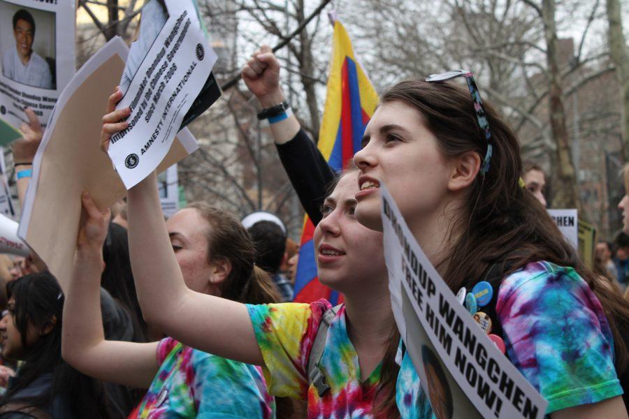 CHS Amnesty Club protests