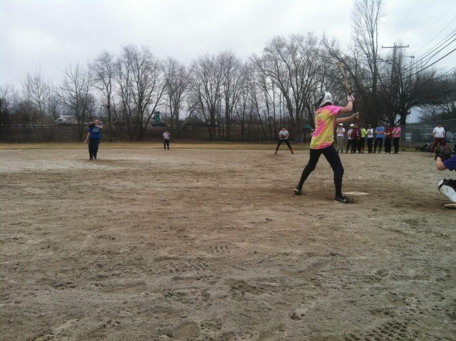 CHS+softball+players+scrimmage