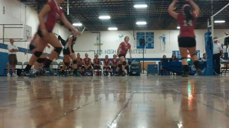 Volleyball+crushing+it
