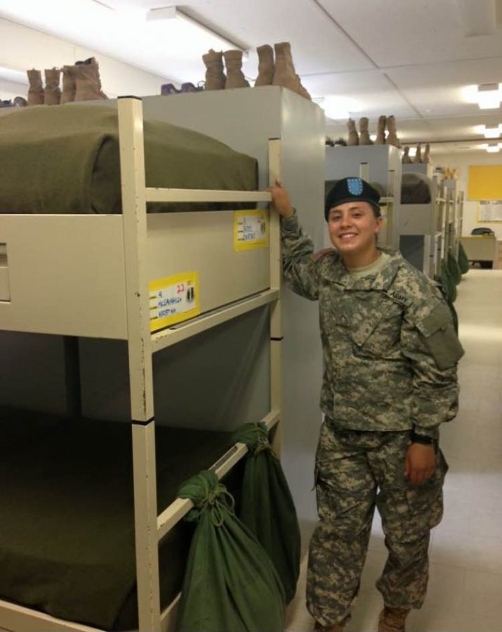 Courtney Reyes: Going military and college