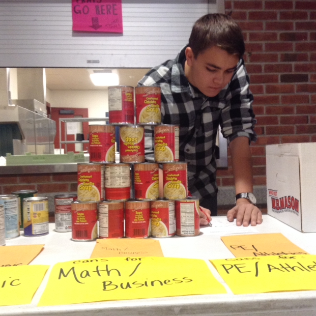 Canned food drive ending soon