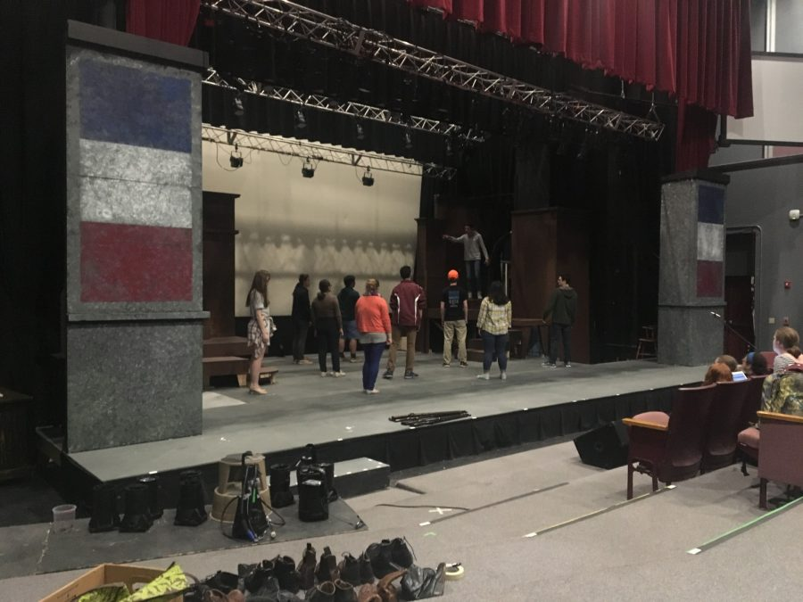 Les Miserables opens tonight