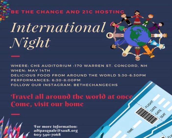 International Night tonight!