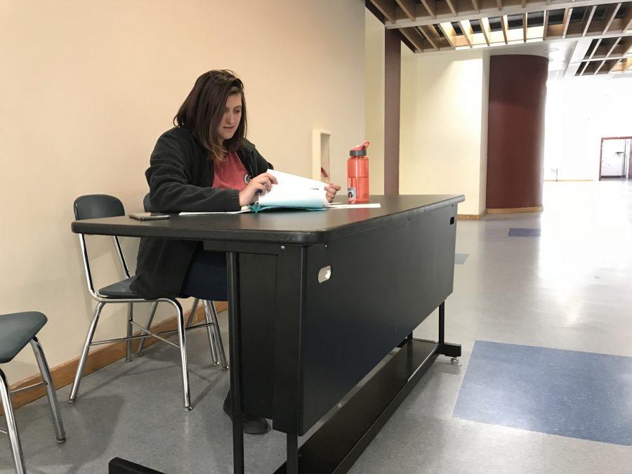 AP Exams underway