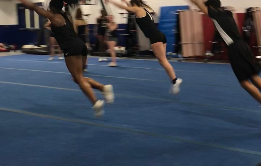 Cheer competitions underway