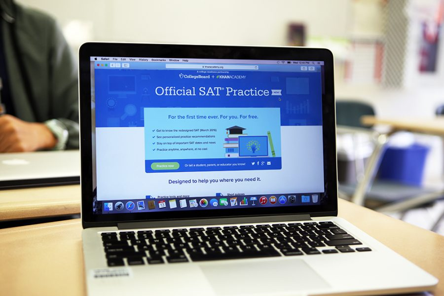 Close to 1 million students nationally have registered for the free Khan Academy SAT test prep program.