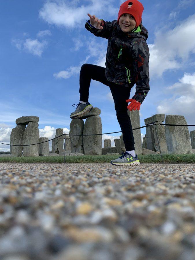 Andrew's adventures: London