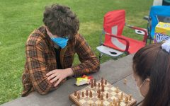 Sophomore Will Richards challenged several students to chess